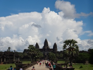 The mighty Angkor Wat!