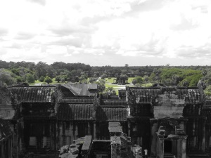 View from the top of Angor Wat