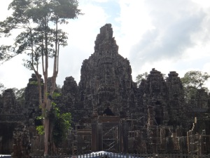First view of Angkor Thom