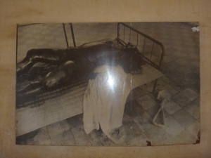 Pictures of the victims found in the cells