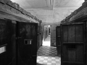 The holding cells