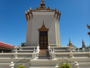 One of the numerous temples in the grounds