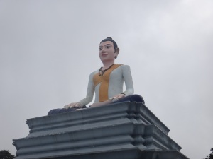 Female Buddha on the ascent of Bokor National Park