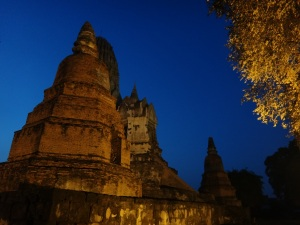 Was great to be in and around temples as it was getting dark