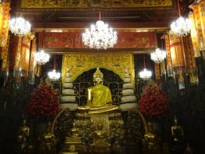 One of the many Buddha shrines