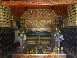 One of the shrines at Wat Xieng Thong