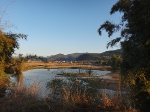 The surrounding area of Phonsavan