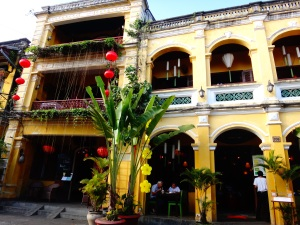The 'typical' style architecture found throughout the town