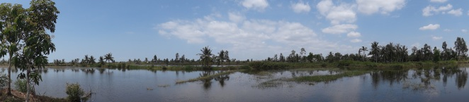 Panoramic view of the setting
