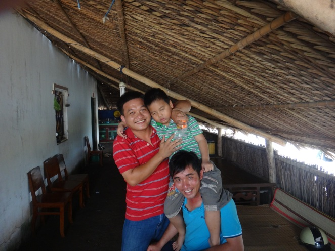Tu's brother, brother-in-law and nephew