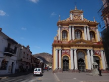 Salta, our first real experience of South American streets-colourful and contrasting