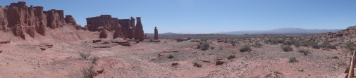 Desert all around
