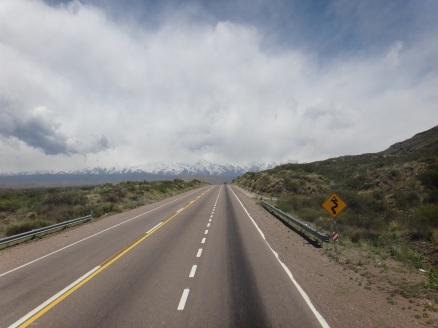 And so our journey begins, the Andes teasing us in the distance