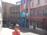 Colourful streets-an art lovers dream!